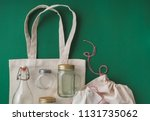 Cotton Bags And Glass Gar For...