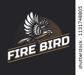 Fire Bird Silhouette Logo...