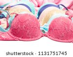 various colored push up bras.... | Shutterstock . vector #1131751745