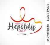 illustration of world hepatitis ...   Shutterstock .eps vector #1131759338