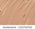 beige makeup smear of creamy... | Shutterstock . vector #1131764762