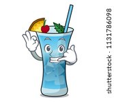 call me blue hawaii mascot... | Shutterstock .eps vector #1131786098