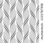 vector seamless texture. modern ... | Shutterstock .eps vector #1131787508