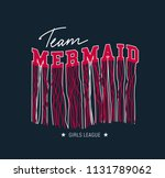 retro t shirt design with... | Shutterstock .eps vector #1131789062