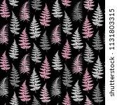 fern frond herbs  tropical... | Shutterstock .eps vector #1131803315