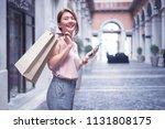 beautiful asian thai girl in... | Shutterstock . vector #1131808175