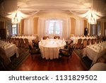 seating layout of a wedding... | Shutterstock . vector #1131829502