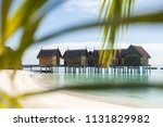 view from the beach of...   Shutterstock . vector #1131829982