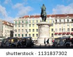 lisbon   portugal   october 18  ... | Shutterstock . vector #1131837302