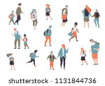set character different student ... | Shutterstock .eps vector #1131844736