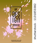 covers templates set with... | Shutterstock .eps vector #1131853382