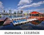 Vienna cityscape - stock photo