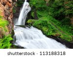 Waterfall Of Cavalese Val Di...