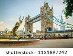 london july  2018  tower bridge ...   Shutterstock . vector #1131897242