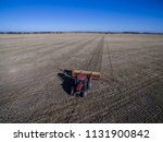 tractor and seeder  direct... | Shutterstock . vector #1131900842