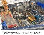 building construction in... | Shutterstock . vector #1131901226