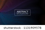 geometric background with... | Shutterstock .eps vector #1131909578