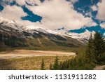 beautiful canadian mountains... | Shutterstock . vector #1131911282