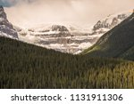 beautiful canadian mountains... | Shutterstock . vector #1131911306