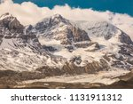 beautiful canadian mountains... | Shutterstock . vector #1131911312