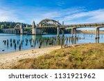 siuslaw river bridge  oregon