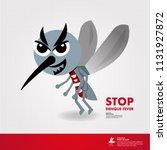 stop denque fever vector   Shutterstock .eps vector #1131927872
