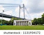 vidyasagar setu wide view ... | Shutterstock . vector #1131934172
