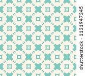 turquoise geometric seamless... | Shutterstock . vector #1131947345