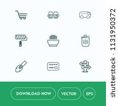 modern  simple vector icon set...   Shutterstock .eps vector #1131950372