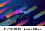 colorful background with simple ... | Shutterstock .eps vector #1131958628