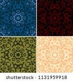 seamless background set | Shutterstock .eps vector #1131959918