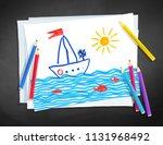 top view vector illustration of ... | Shutterstock .eps vector #1131968492
