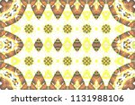 colorful mosaic pattern for... | Shutterstock . vector #1131988106