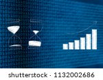 timing in business conceptual... | Shutterstock . vector #1132002686