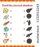 game for preschool children.... | Shutterstock .eps vector #1132012265