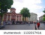 vilnius  lithuania   21 april... | Shutterstock . vector #1132017416