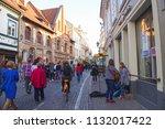 vilnius  lithuania   21 april... | Shutterstock . vector #1132017422