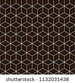 seamless black   white...   Shutterstock .eps vector #1132031438