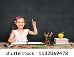 back to school concept  happy... | Shutterstock . vector #1132069478