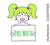 zero waste concept. environment ...   Shutterstock .eps vector #1132070405