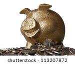 piggy bank | Shutterstock . vector #113207872