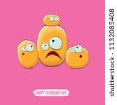 vector friends potato... | Shutterstock .eps vector #1132085408