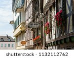 linz am rhein  germany may 31 ... | Shutterstock . vector #1132112762