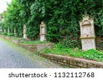 linz am rhein  germany may 31 ... | Shutterstock . vector #1132112768