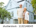 old age  accommodation and real ... | Shutterstock . vector #1132148045