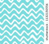 chevron zigzag paint brush... | Shutterstock .eps vector #1132150556