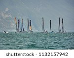 riva del garda lago di garda ...   Shutterstock . vector #1132157942