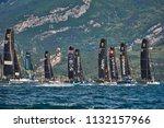 riva del garda lago di garda ...   Shutterstock . vector #1132157966