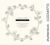 Floral Frame Vector...