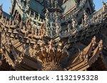 pattaya chonburi province ... | Shutterstock . vector #1132195328
